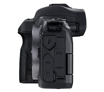Canon EOS R Body Side
