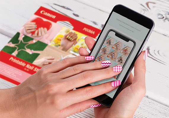 It's just an image of Printable Nail Designs intended for diy