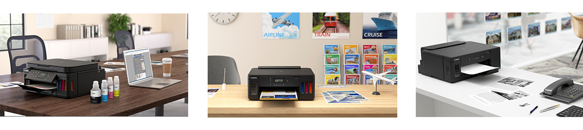 Canon Unveils New G Series Printers to Boost Productivity