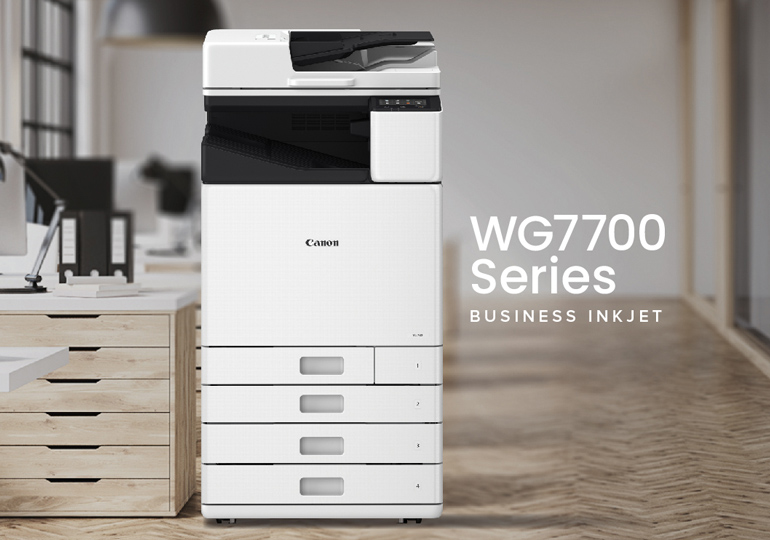 Have  a Question on our WG Series Business Inkjet Printer?