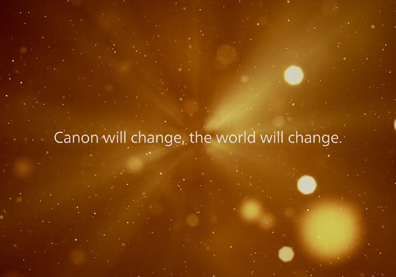 Canon Will Change, the World Will Change