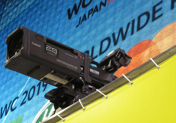 Canon to Support News Media at Rugby World Cup 2019™, Announces On-location Services for Pro Photographers