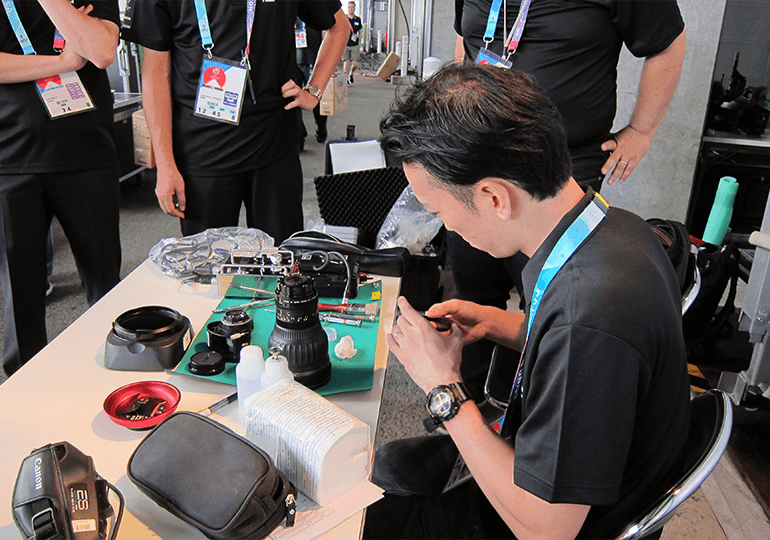 Canon to Support News Media at Rugby World Cup 2019™