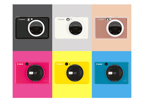 Canon Introduces New Instant Cameras in Bold New Colour Choices that Can Shoot and Print While on the Move