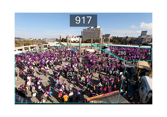 Canon Takes Video Content Analytics to the Next Level with Crowd People Counter