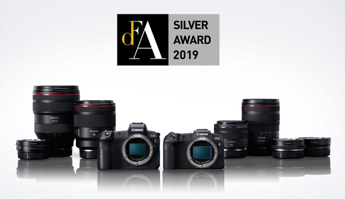 Canons EOS R System award banner