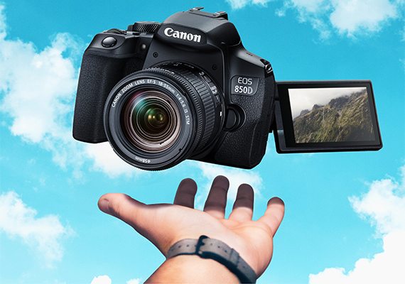 Elevate your Photography with the Intuitive EOS 850D