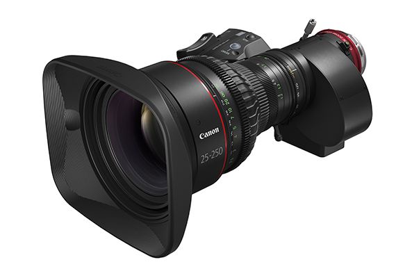 "Canon Expands Its ""CINE-SERVO"" Series of Canon Cinema Lenses"