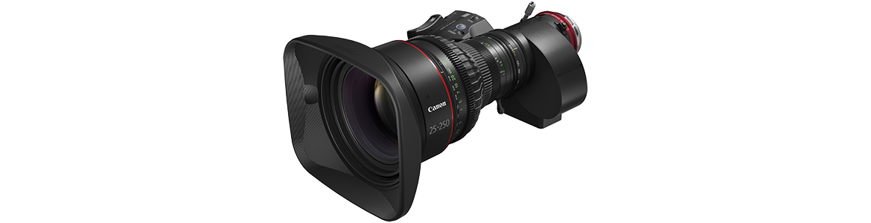 "Canon Expands Its ""CINE-SERVO"" Series of Canon Cinema Lenses"