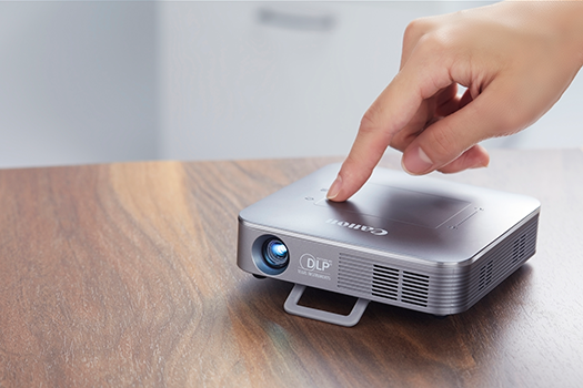 Canon Unveils a New Wireless Mini Projector for Home Cinema On-the-go