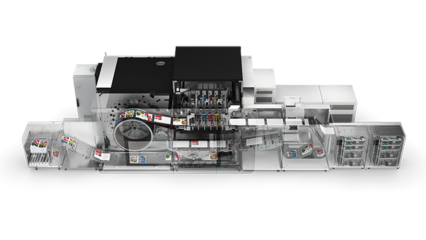 Print a full spectrum of commercial print applications with the varioPRINT iX-series