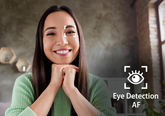 Eye detection af