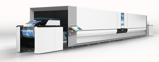 With increased speeds of up to 133m/min, the new model is the ideal solution for commercial printers who want ultimate performance