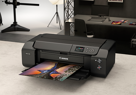 New A3+ Professional Photo Printers Pair with Canon Professional System Cameras to Produce Photographic Images with Stunning Quality