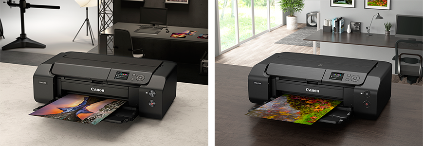 New A3+ Professional Photo Printers Pair with Canon Professional System Cameras to Produce Photogenic Images with Stunning Quality