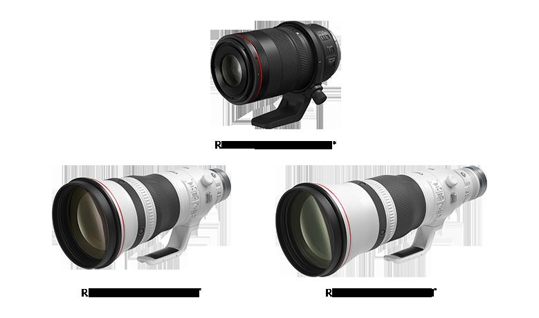 New Medium and Super Telephoto RF Prime L Lenses