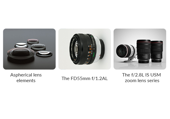 Canon Celebrates 50th Anniversary of Its First Interchangeable Lens for SLR Cameras to Employ An Aspherical Lens Element