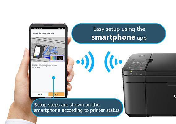 Easy Setup of Printer